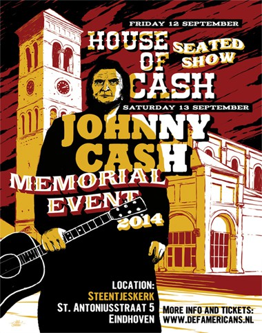 Theatershow en mini-festival gecombineerd in Johnny Cash Memorial Weekend