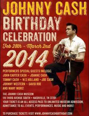 Johnny Cash Museum's Birthday Celebration Review